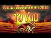SABATON - COAT OF ARMS - WORLD WAR TOUR 2010