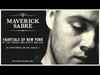 Maverick Sabre - Fairytale of New York' cover