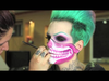 Jeffree Star - time lapse Halloween makeup!