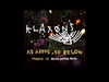 Klaxons - As Above So Below (French Version)