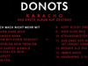DONOTS - Album Player KARACHO (VÖ 20.02.2015)