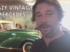Jamiroquai - Jay with rare Mercedes Benz 300S before Stuttgart show