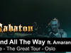 SABATON - 82nd All The Way (feat. Amaranthe (Live - The Great Tour - Oslo)