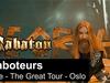 SABATON - Saboteurs (Live - The Great Tour - Oslo)