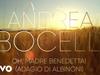 Andrea Bocelli - Oh, Madre Benedetta! (Adagio Di Albinoni) (Visualiser)