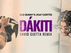 Bad Bunny & Jhay Cortez - Dákiti (David Guetta remix) (visualizer)