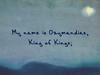 Marianne Faithfull - Ozymandias (Lyrics Video)