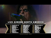 Alice Cooper 2021 Fall Tour With Special Guest Ace Frehley